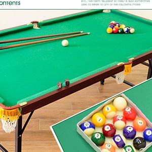 撞球桌│186X99家用折合型撞球台(內含完整配件)折疊撞球檯.撞球桿.摺疊遊戲機.推薦哪裡買專賣店