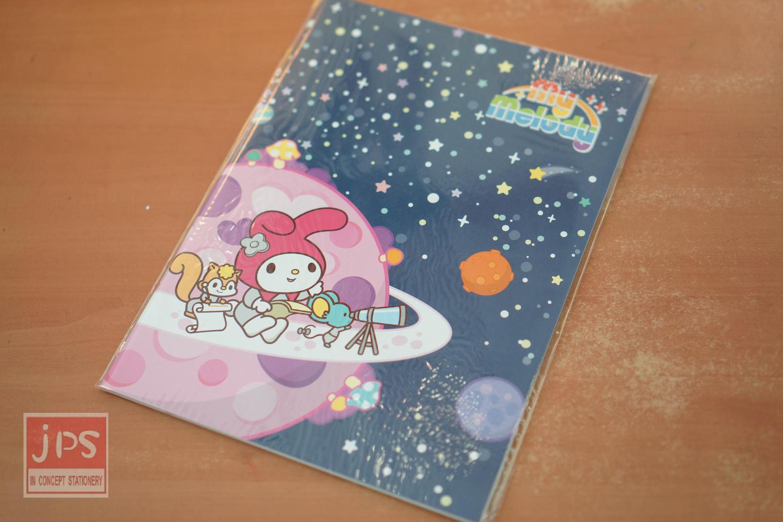 My Melody 太空 B5 筆記本 (太空)
