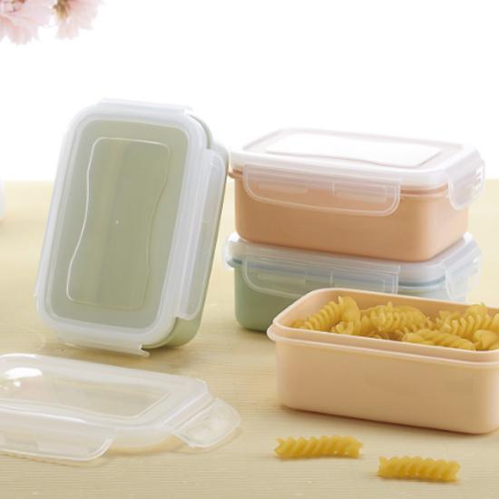 MY COLOR素雅冰箱密封保鮮盒方五穀雜糧食品保鮮廚房收納密封茶葉冰箱M145