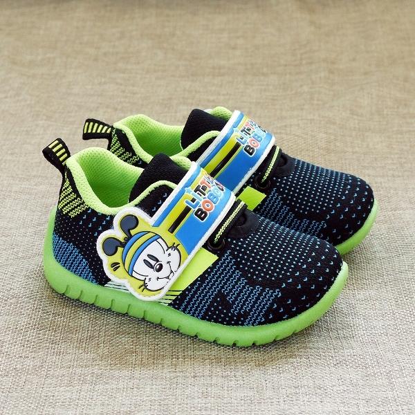 童鞋 BOBDOG 飛織休閒鞋 BOB-6029