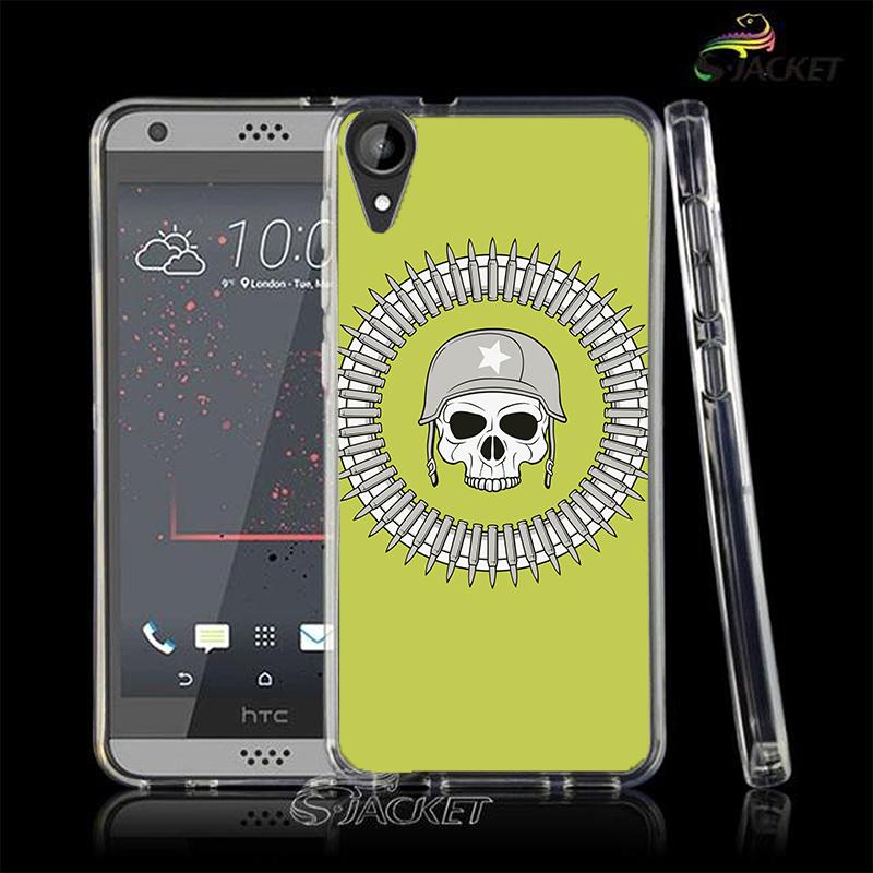 3C膜露露子彈骷髏軟殼HTC Desire 10 Lifestyle手機殼手機套保護套