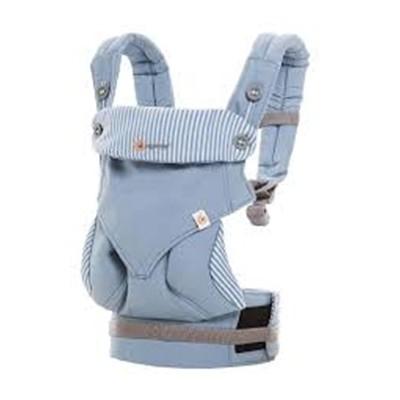 美國Ergobaby 360度四向寶寶揹巾背巾背帶-天藍色2年保固衛立兒生活館