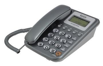 【中彰投電器】歌林來電顯示型有線電話機,KTP-1102L【全館刷卡分期 免運費】以現有顏色出貨呦~