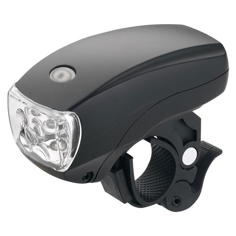 SKORPION 5-LED白光方形前大燈(自行車前燈/公路車燈/夜騎/警示燈/腳踏車燈/單車大燈)
