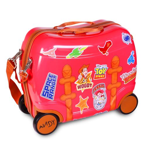 Disney迪士尼可愛出遊乘坐行李箱玩具總動員JOYBUS玩具百貨