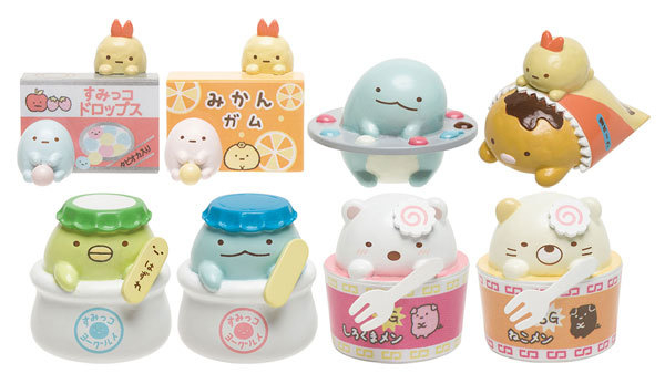 Hamee 日本San-X 角落生物 古早味糖果店 柑仔店 食玩盒玩 模型公仔 貓咪 白熊 恐龍 (單入隨機出貨)