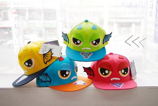 預購韓版兒童帽春秋兒童鴨舌帽男女童棒球帽寶寶遮陽帽嘻哈卡通平沿帽