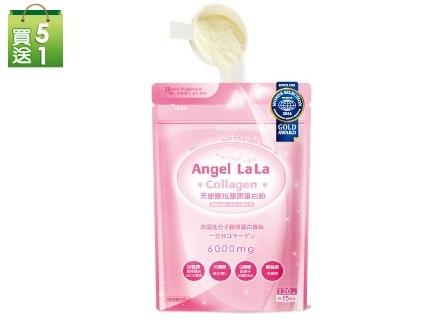 【Angel LaLa天使娜拉】膠原蛋白粉(120g/入)買5送1