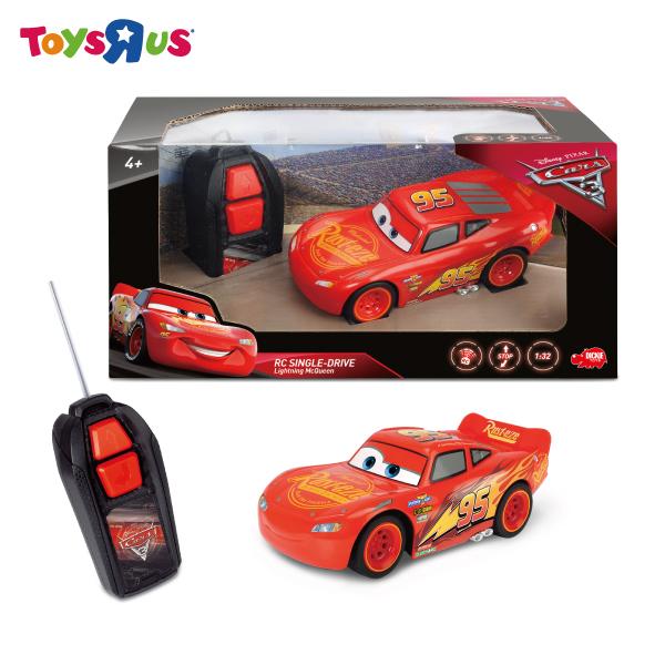 玩具反斗城 汽車總動員3 Cars3 基礎版遙控閃電麥坤1:32