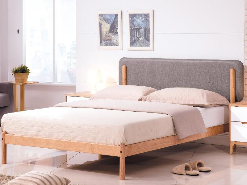 床架 床台 TV-114-3 羅德北歐本色6尺床台 (不含床墊) 【大眾家居舘】