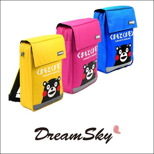 熊本熊KUMAMON方型背包書包後背包學生休閒包包Dreamsky