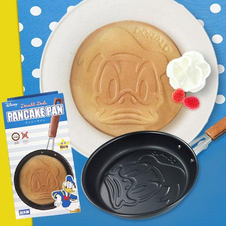 日貨唐老鴨造型不沾鬆餅烤盤鬆餅鍋鬆餅鬆餅機煎雞蛋鍋煎蛋鍋迪士尼