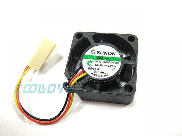 【鼎立資訊】SUNON 2.5公分風扇(MC25100V3-Q000-G99)12V/7000R/28dba