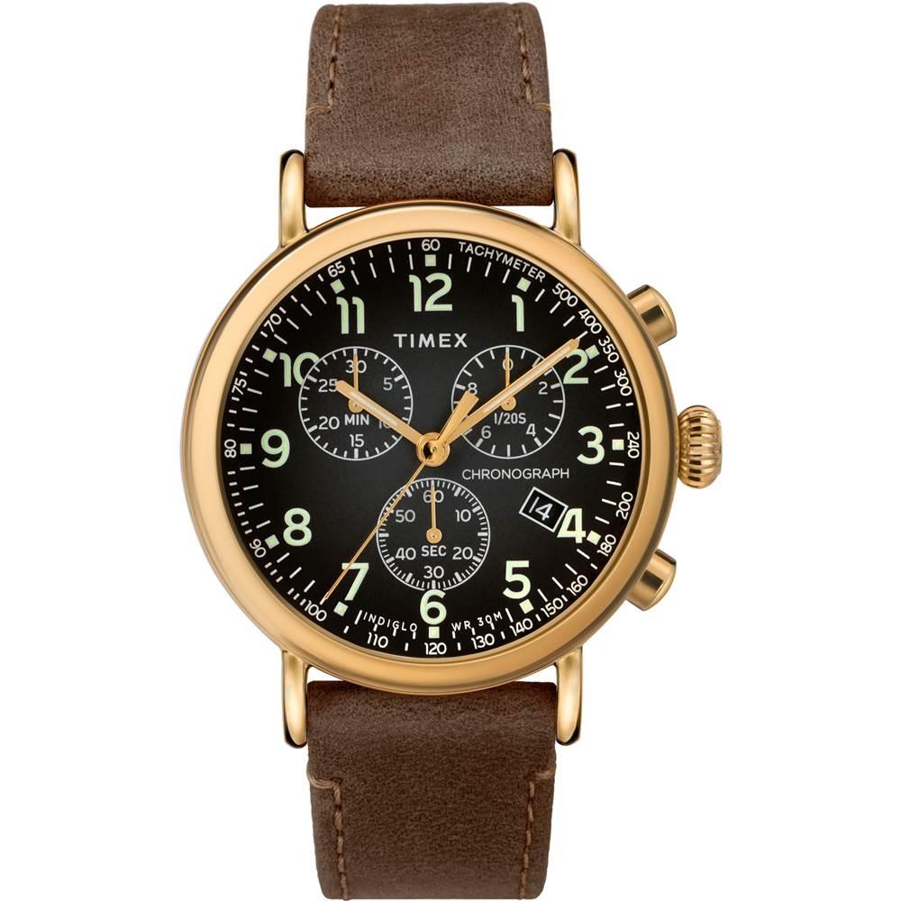 【TIMEX】天美時 復刻系列 經典復古手錶  ( 咖啡/黑TXTW2T20900)