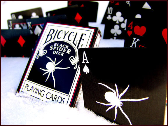 【USPCC撲克館】撲克牌BICYCLE 黑蜘蛛牌 Spider