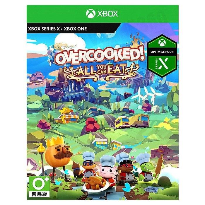 [哈GAME族]2020年暫定 Xbox Series X 胡鬧廚房!全都好吃 中英文合版 收錄《煮過頭》1+2 所有內容