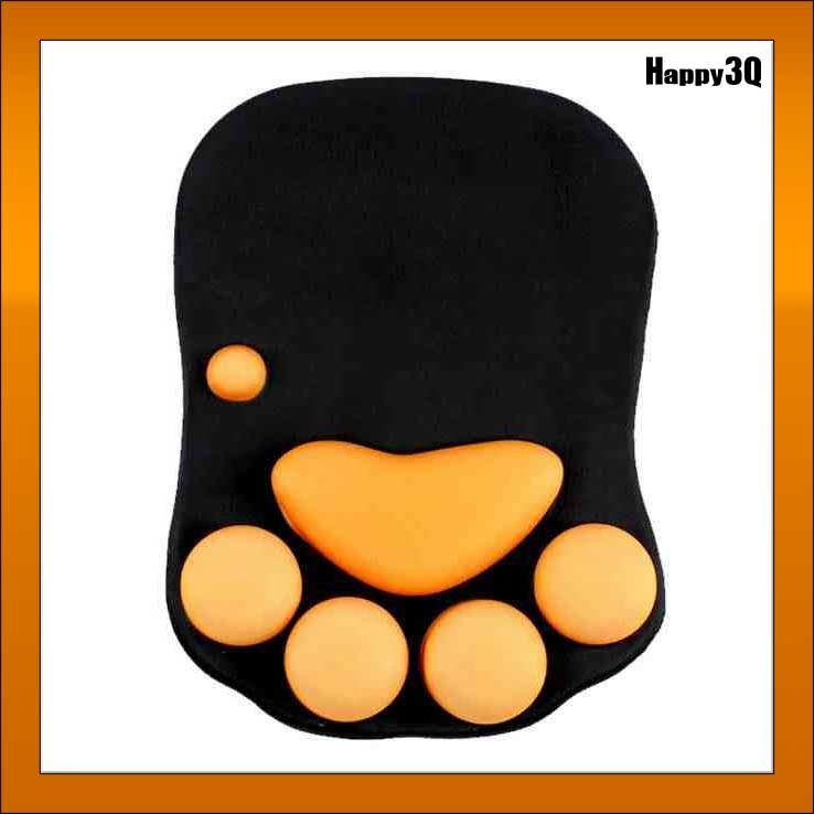 愛貓貓奴遊戲辦公必備創意超萌舒緩手腕療癒心靈貓爪彈性肉球護手矽膠滑鼠墊AAA0727預購