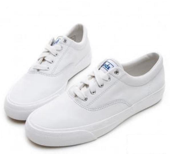 Keds ANCHOR 女款白色復刻休閒鞋 -NO.9191W132594