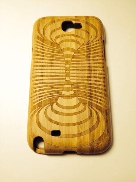 世明國際三星Note2木殼木質殼N7100手機殼note2保護殼手機保護套