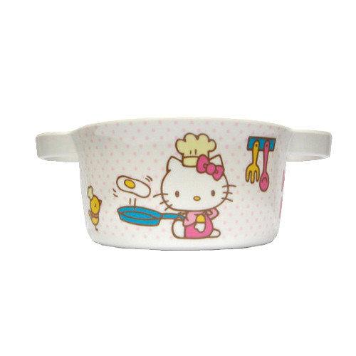 【奇買親子購物網】雙耳湯杯(HELLO KITTY /DORA朵拉)