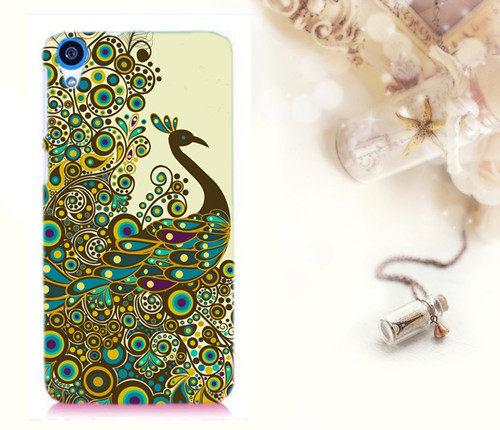 ♥ 俏魔女美人館 ♥特價 HTC Desire 626 {孔雀*水晶硬殼} 手機殼 手機套 保護殼 保護套