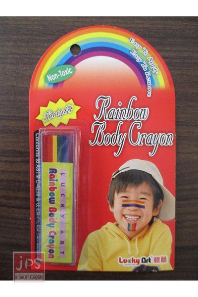 [康貝斯] 彩虹條彩繪筆-平光
