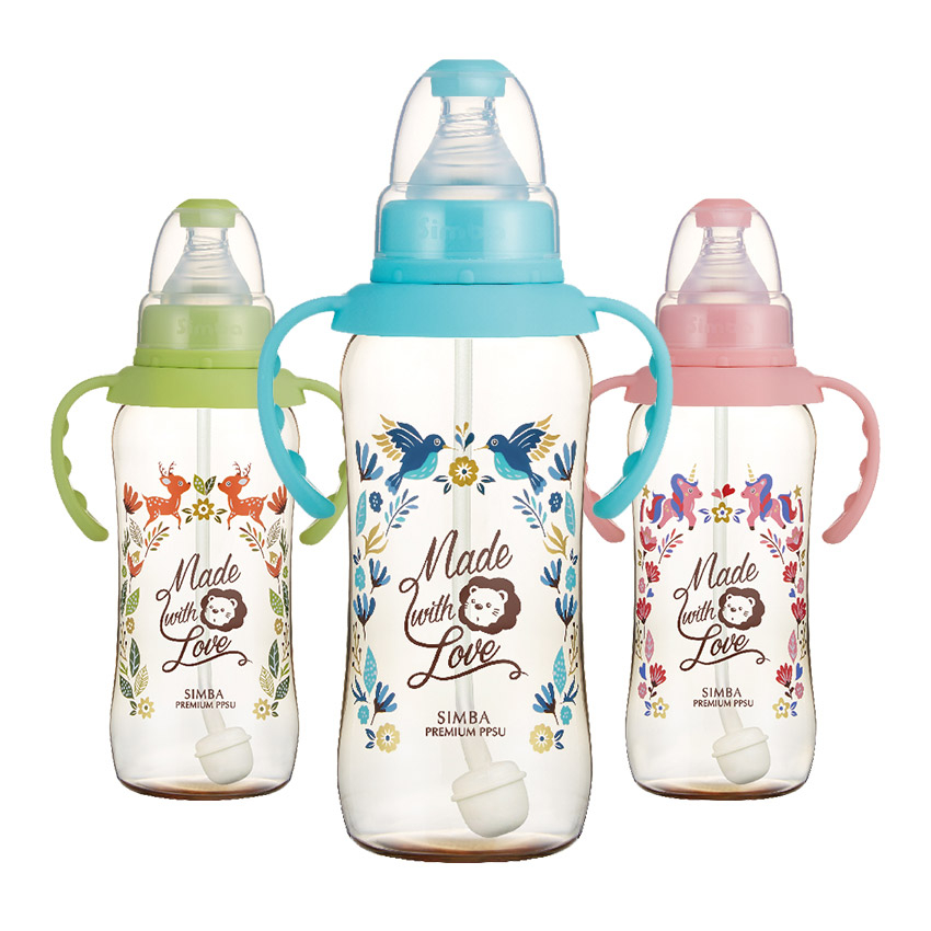 Simba小獅王辛巴 - 桃樂絲 - PPSU自動把手標準葫蘆大奶瓶320ml