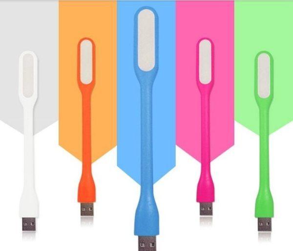 USB LED燈隨身燈電腦燈筆電燈鍵盤燈小夜燈檯燈牙刷燈小米燈輕巧方便不挑色