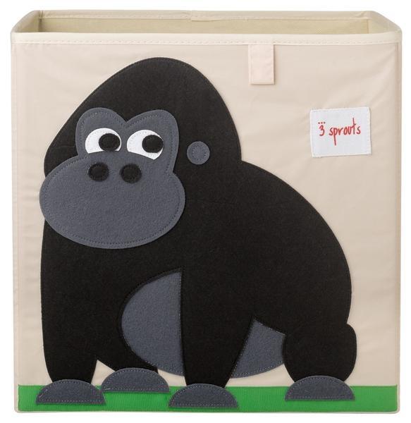 【加拿大 3 Sprouts】收納箱-大猩猩款