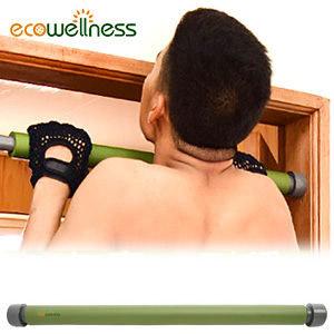 室內單槓│【ecowellness】室內門框單槓(引體向上 伏地挺身 仰臥起坐)門上吊單槓推薦