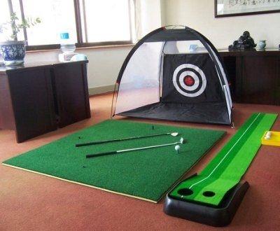 高爾夫練習網打擊籠高爾夫打擊墊1.25m*1m特價藍星居家