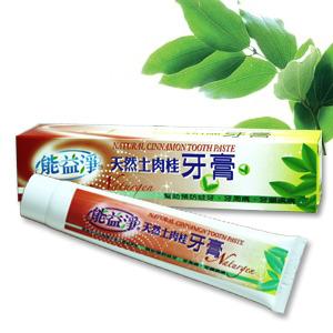 天然土肉桂牙膏每條150公克能益淨Naturgen