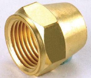 水電材料風壓接頭氣壓缸用快速接頭風用銅接頭喇叭螺帽1 4