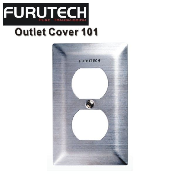 Furutech 古河 Outlet Cover 101 不鏽鋼電源蓋板