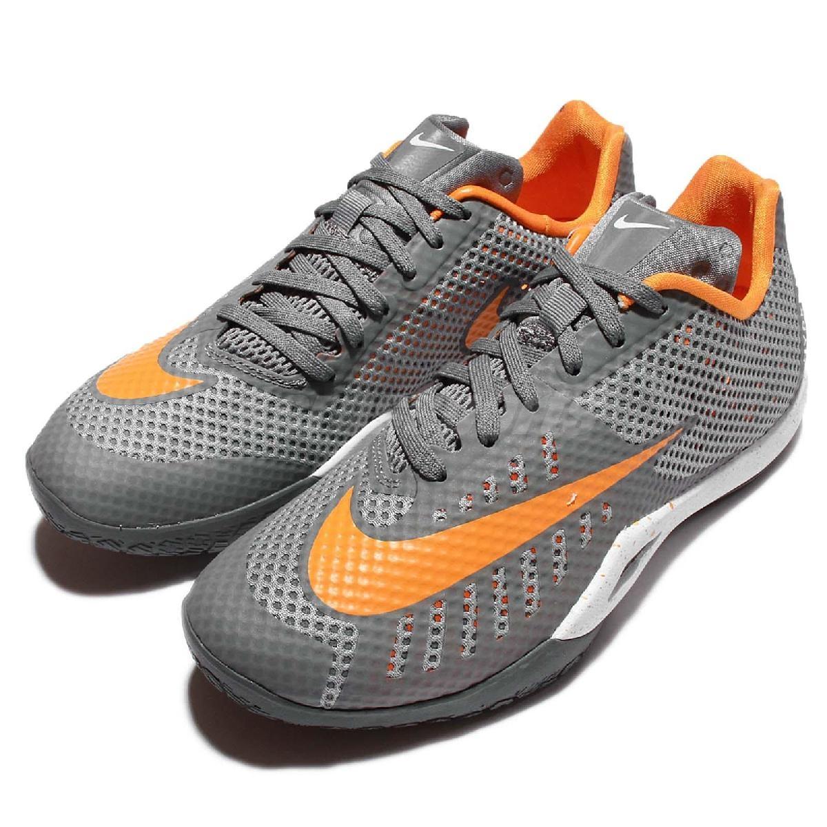 Nike籃球鞋Hyperlive EP灰橘XDR耐磨大底避震鞋墊男鞋PUMP306 820284-011