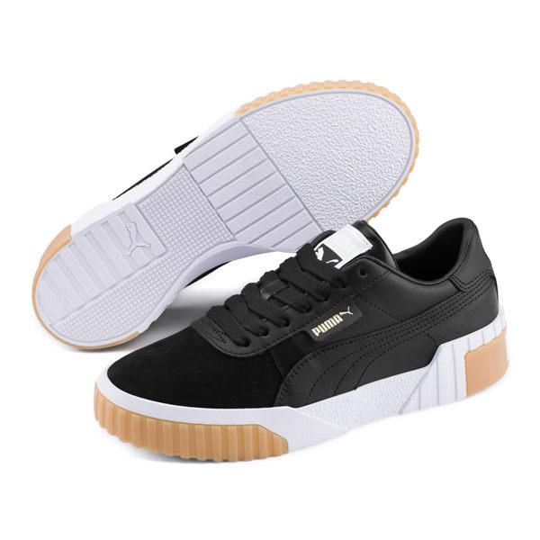 Puma Cali Exotic 黑 女款 餅乾鞋 滑板鞋 復古鞋 板鞋 休閒 運動休閒鞋 36965303