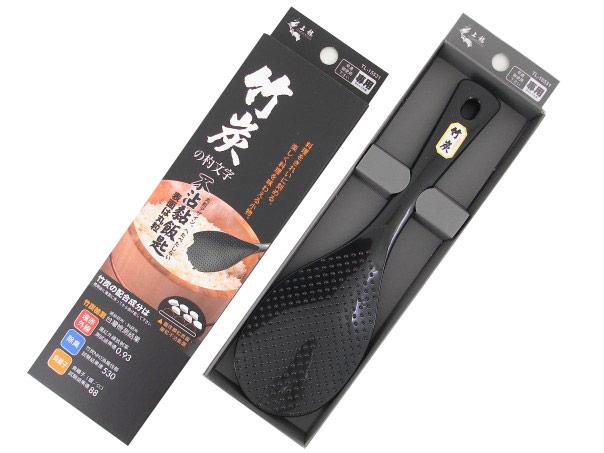 【好市吉居家生活】上龍 竹炭不黏飯匙吊卡彩盒 飯匙 TL-15531