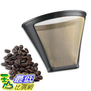 美國直購Cuisinart GTF-4咖啡粉濾網Gold Tone Filter for Cuisinart 4-Cup Coffeemakers Gold Black