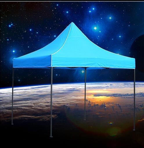 戶外遮雨棚廣告折疊帳篷印字伸縮大傘四腳遮陽棚雨篷車棚擺亭陽台2.5*2.5雙層