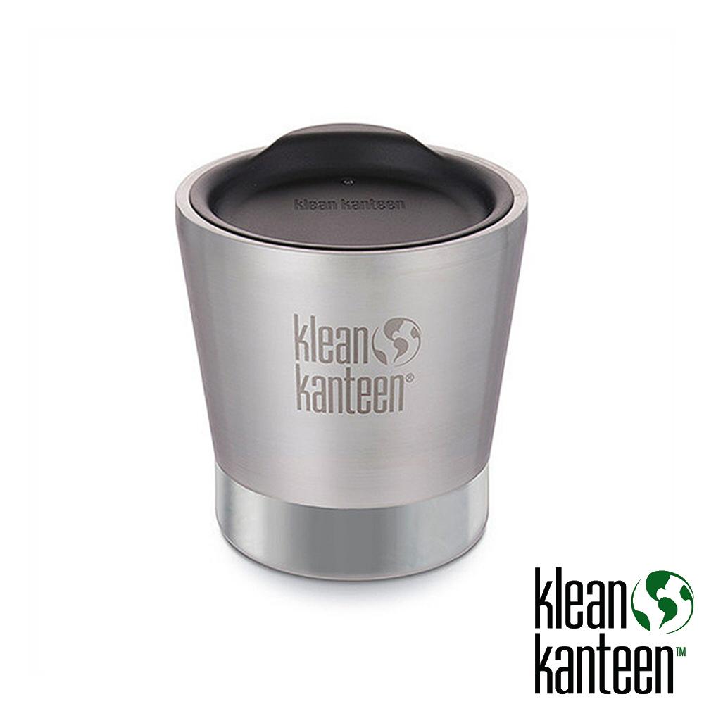klean kanteen Insulated Tumbler 8oz保溫不鏽鋼杯附杯蓋原色鋼K8VSSC戶外啤酒杯水壺不鏽鋼水壺