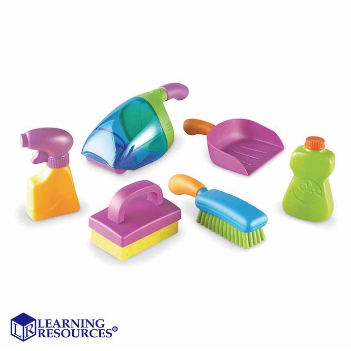 華森葳兒童教玩具扮演角系列-清潔小尖兵N1-9242