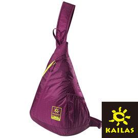 Kailas X影斜肩背包12L夏蓮紫KA50061登山露營休閒旅遊戶外側背包
