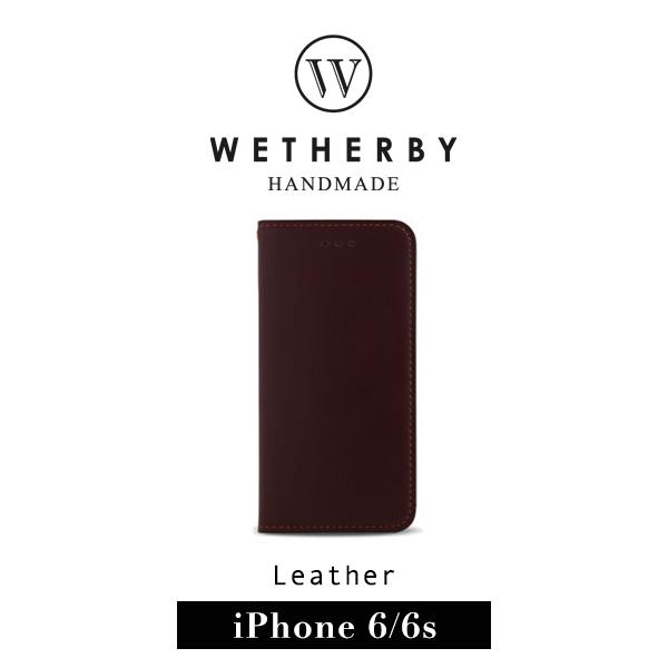G2 STORE WETHERBY CLASSIC BASIC iPhone 6 4.7吋手工製作真皮保護套皮套深棕色