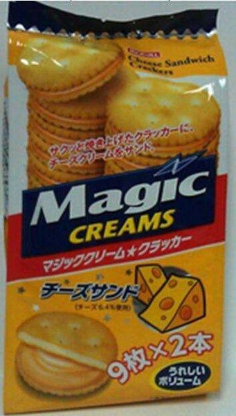 Magic Creams起司夾心餅150g合迷雅好物超級商城