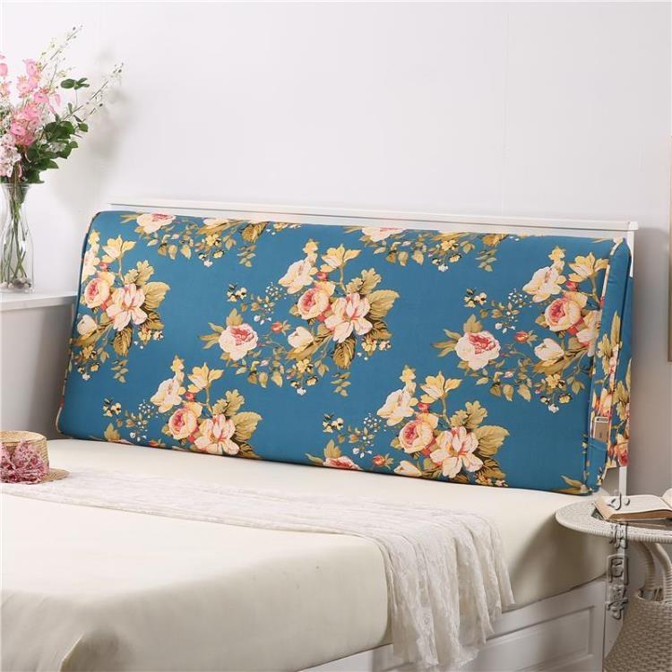 雙人床頭靠墊床上榻榻米軟包沙發靠枕靠背床頭罩  igo 小明同學