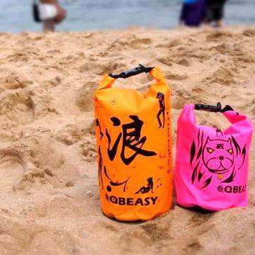 台灣製造 漂流袋 防水背包 防水袋 防水包 5L 春吶 海洋音樂祭 路跑 游泳 SPA 水上樂園 旅遊 露營
