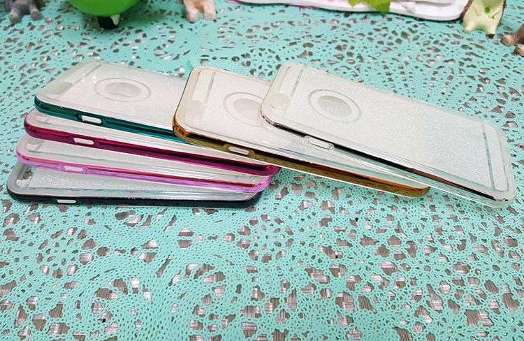 CHENY出清特賣iphone6 6s 4.7吋閃粉金屬邊框TPU手機殼保護殼