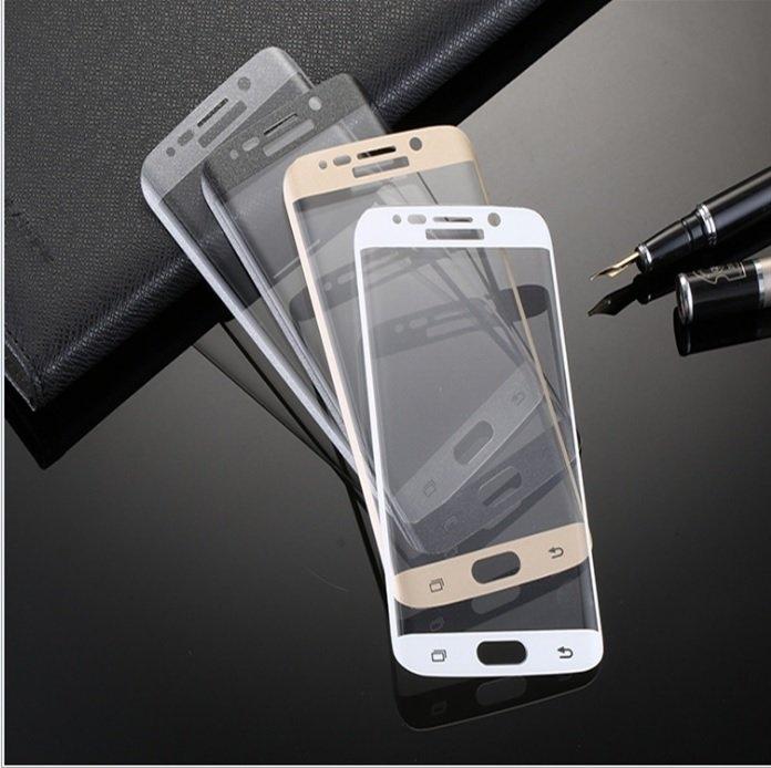 真3D熱彎曲滿版S6 edge S7edge NOTE7滿版Galaxy玻璃貼保護貼鋼化膜