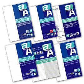 Double A A5 20孔標準橫線空白內頁空白軋線兩段式內頁點點內頁方格內頁活頁紙80頁包