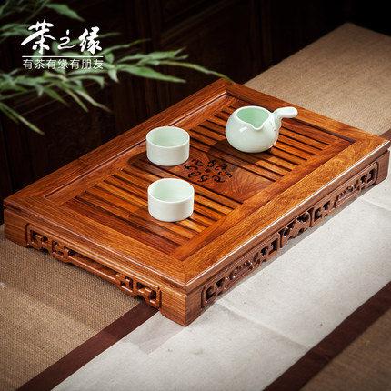 花梨木茶盤富貴茶海實木茶盤功夫茶具